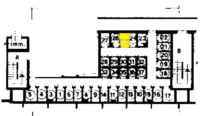 Planimetria 5 piano sub.301 - cantina