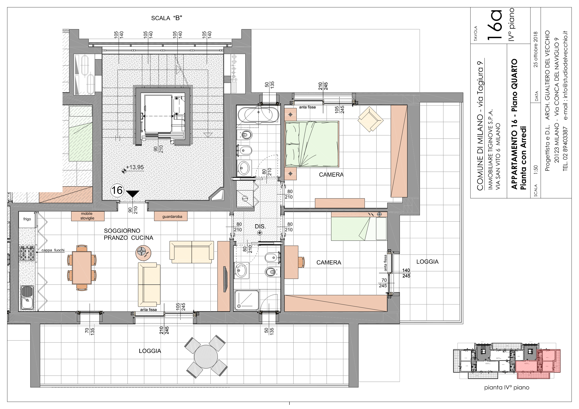 Trilocale Classe A3 Via Tagiura 9 (Appartamento 16)