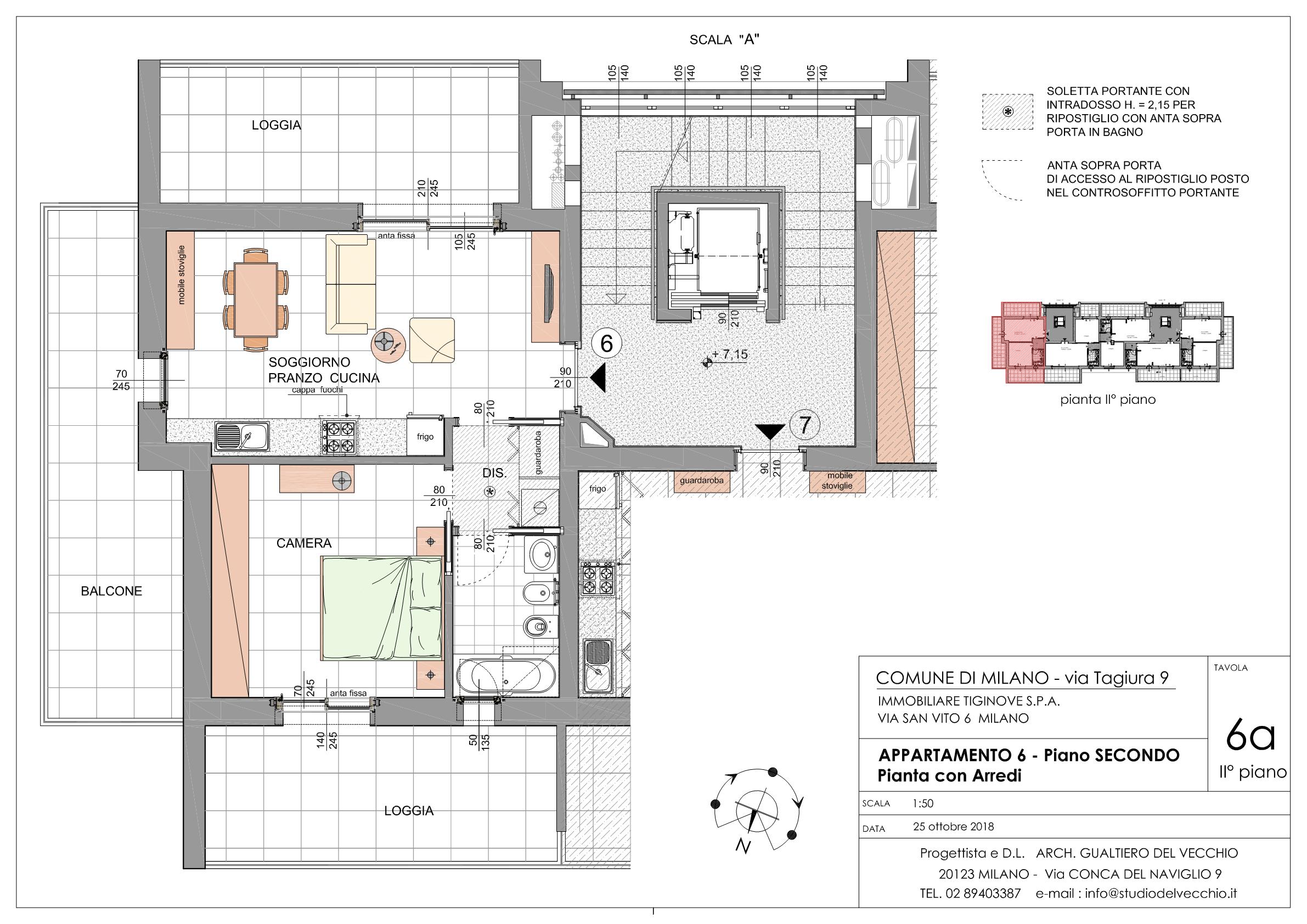 Bilocale Classe A3 Via Tagiura 9 (Appartamento 6)