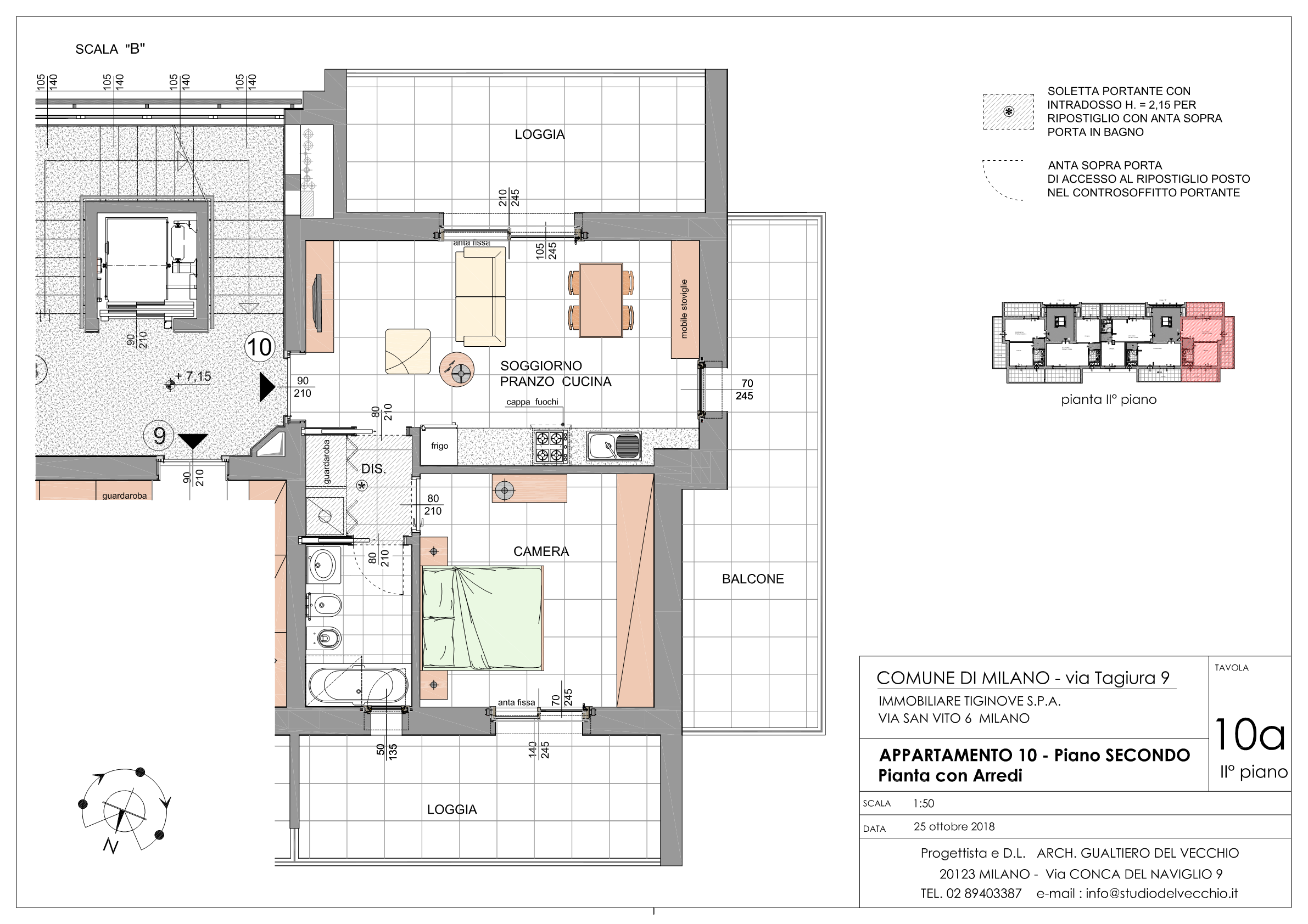 Bilocale Classe A3 Via Tagiura 9 (Appartamento 10)